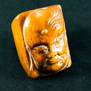 Buddha Good ~ Evil Ring