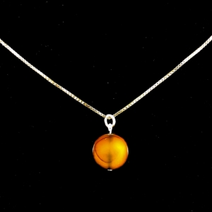 Agate Pendant Necklace