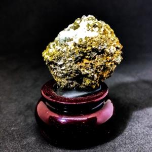 Natural Pyrite with Quartz