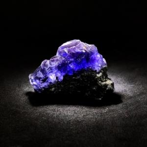 Blue/Purple Fluorite on Matrix